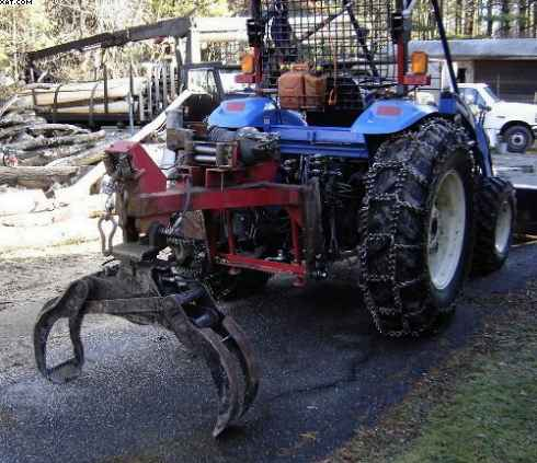 3 point hitch log grapple in Forestry and Logging