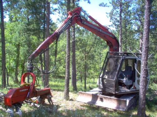 production on stroke delimbers in Forestry and Logging
