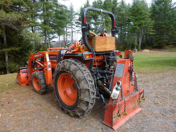 Compact Tractor Tire Chains? in Forestry and Logging