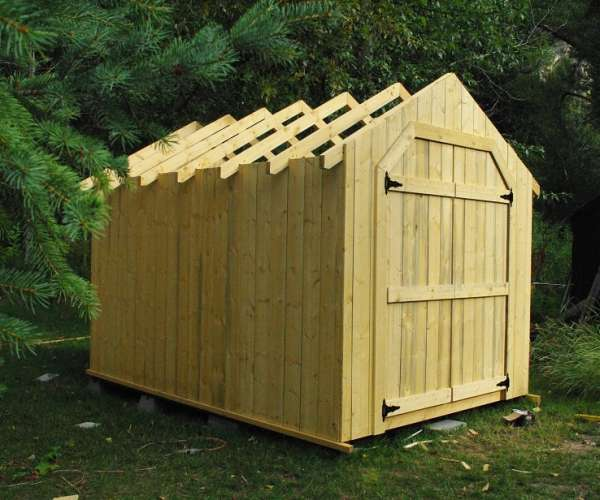 8 X 12 Shed Project