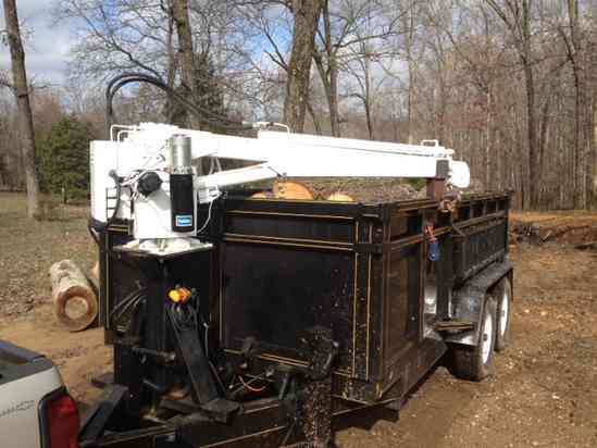Buying Or Making A Log Loader Trailer With Grapple Boom In Forestry