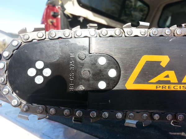 Cannon SUPERMINI chainsaw bar tip 3//8 Pitch for Cannon Mini bars