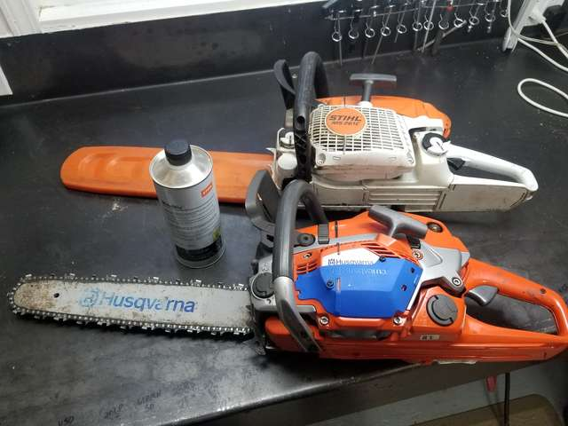 Leave gas in unused chainsaw over the winter? in Chainsaws
