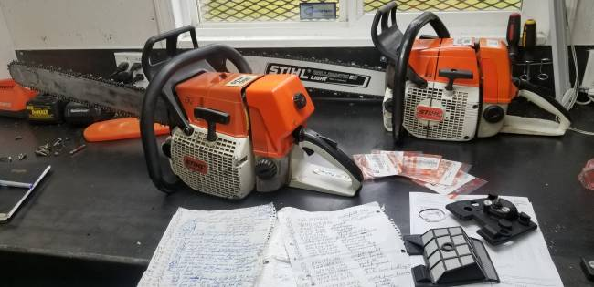 stihl stuff    in Chainsaws