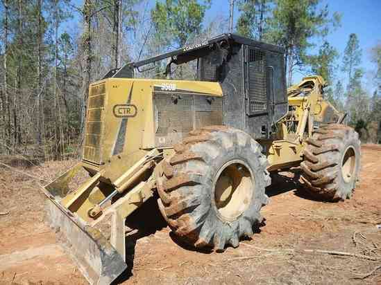 CTR Log Skidders in Forestry and Logging
