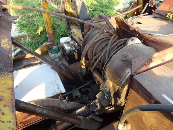 J5 bomb skidder in Forestry and Logging