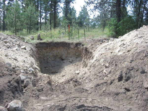 Underground Root Cellar Construction