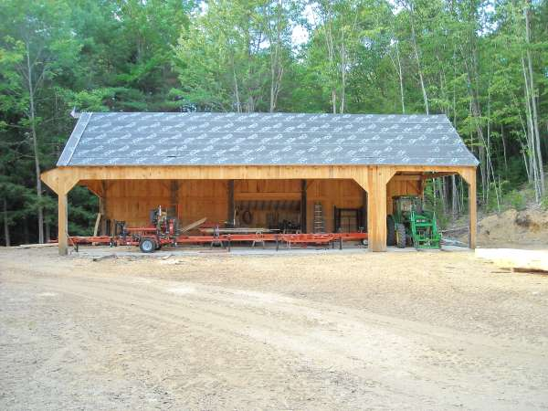 Sawmill Sheds in Sawmills and Milling