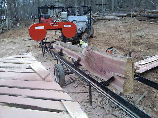 Turner band sawmill for sale-- SOLD in For Sale