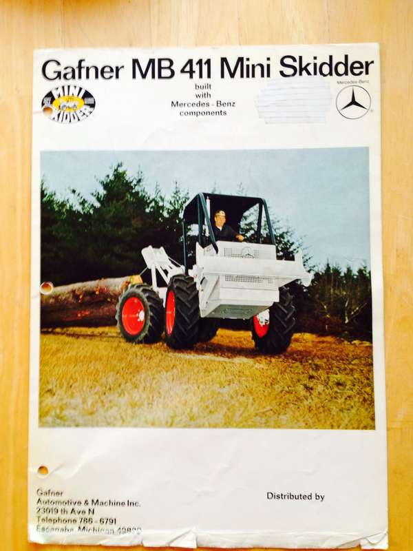 what is the smallest skidder? in Forestry and Logging