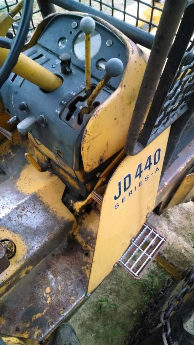 John Deere 440A info in Forestry and Logging