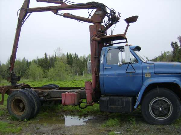 loader lacks lifting power in Forestry and Logging