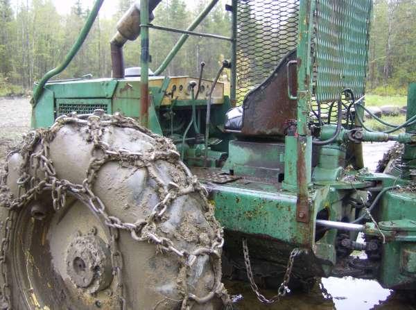 Treefarmer skidder help