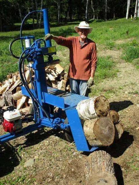 Go devil wood splitter