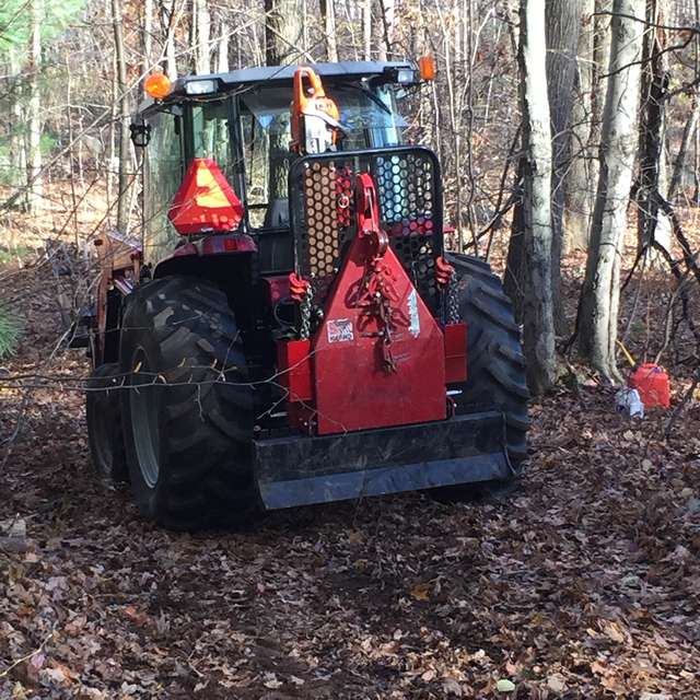 Tractor Skidding Winches in Forestry and Logging