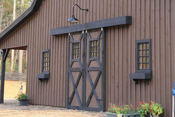 Sliding Barn Door Header - with exterior insulation in Timber ...
