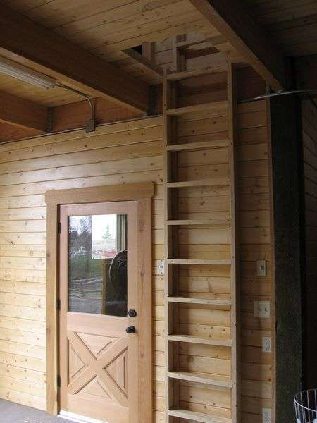 i was considering a vertical ladder for the loft in the shed iu0027m something like this