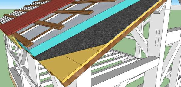 Roofinginsulation question in timber framinglog construction solutioingenieria Image collections