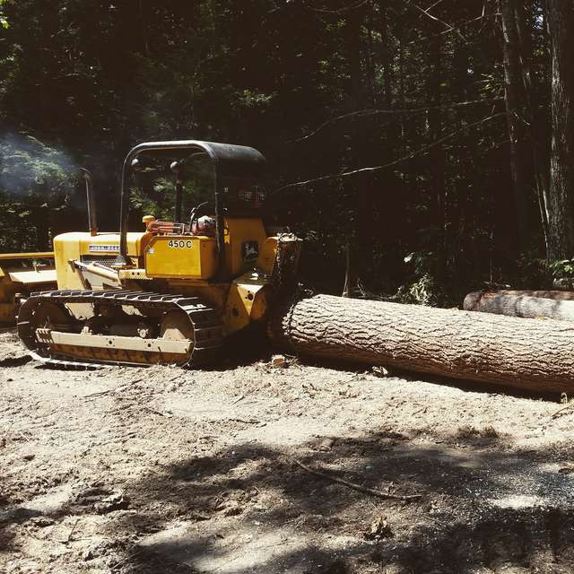 Logging with a small dozer? in Forestry and Logging