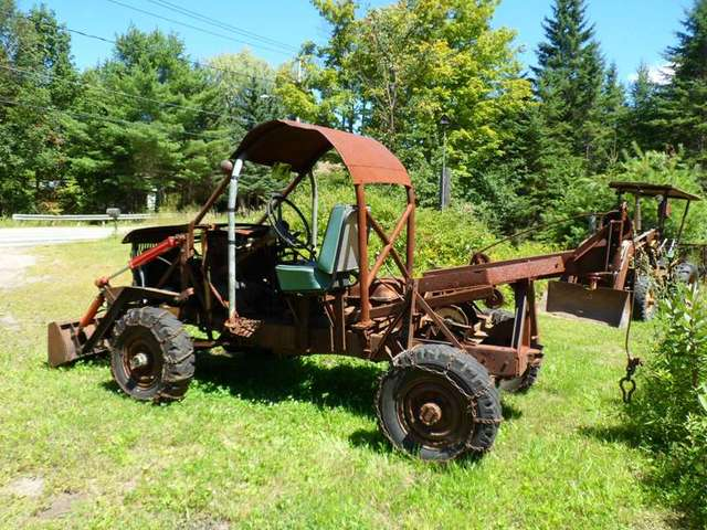 Homemade skidders: Anybody (other than Dad) built one from a 1948