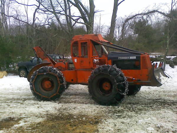 Timberjack with a Deutz? in Forestry and Logging