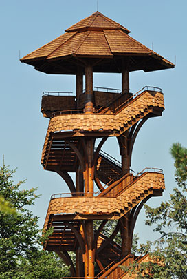 Building an observation tower in general board for Observation tower plans