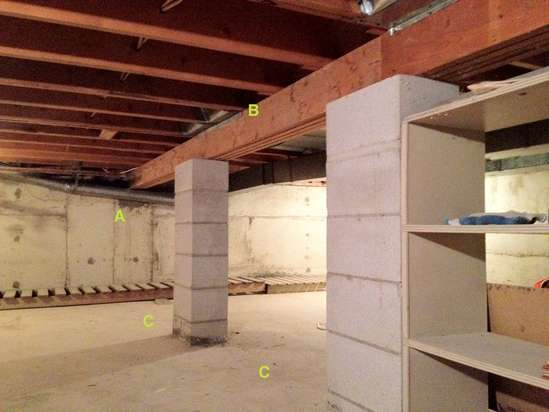 Load Bearing Capacity Laminated Beams ~ Post beam design for load bearing interior wall