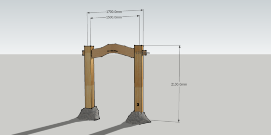 Question About Timber Post Connection To Concrete Pier in Timber ...