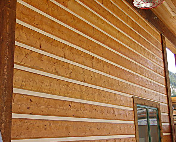 Vinyl siding that looks like log cabin