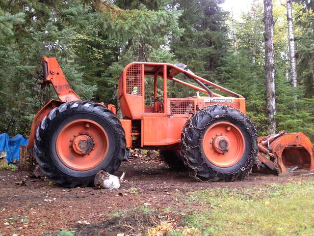 Timberjack 230D in Forestry and Logging