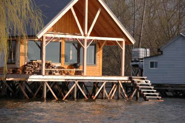 Advice on foundation for a cabin on stilts Log cabin homes on stilts
