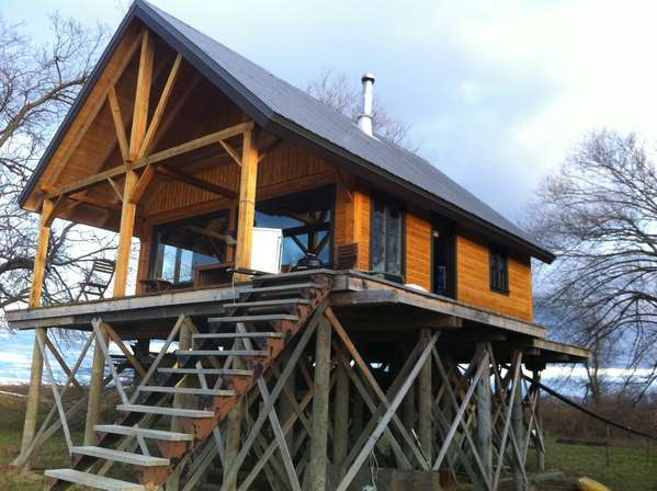 Strange Advice On Foundation For A Cabin On Stilts Inspirational Interior Design Netriciaus