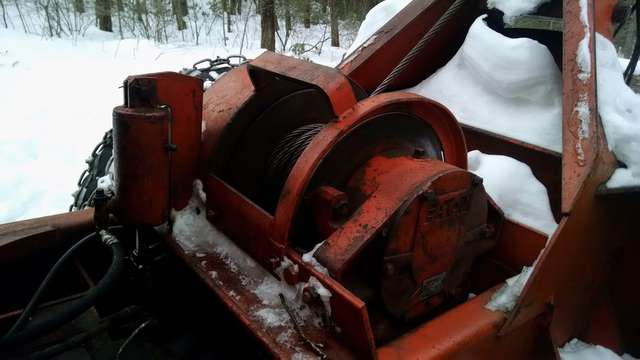 Timberjack winch rebuild in Forestry and Logging