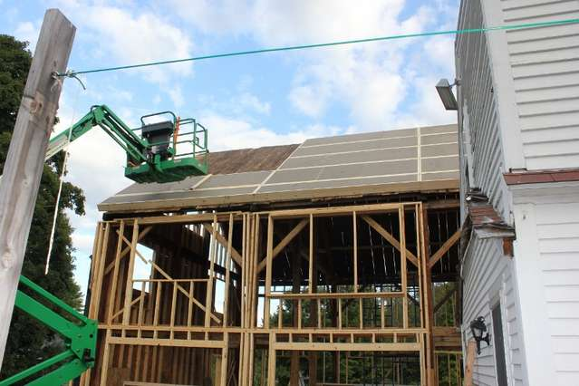 best way to insulate the roof on a timber frame house in Timber