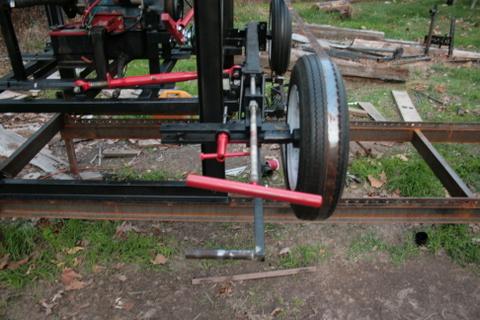 Homemade Bandsaw Mill Wheels Homemade Ftempo