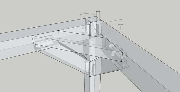 Help with a Post&Beam shed in Ireland in Timber Framing/Log construction