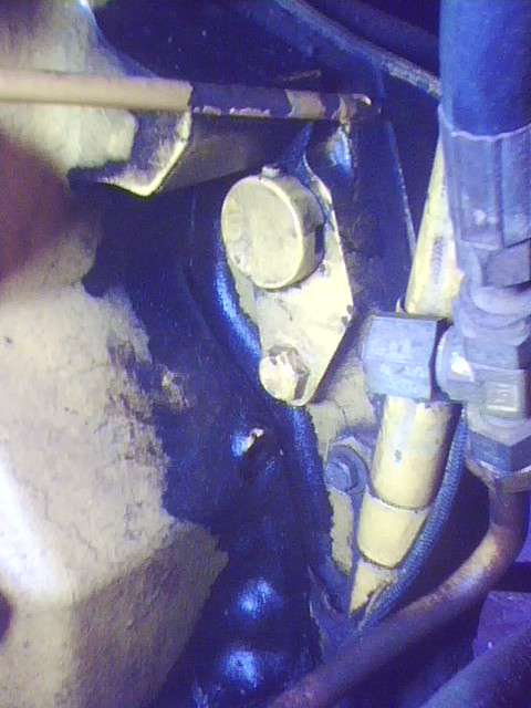 retiming injection pump to engine in Forestry and Logging