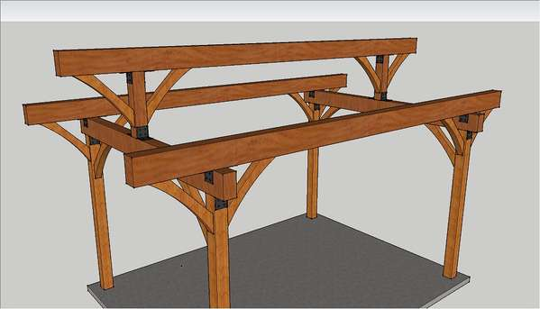 Newbie question on joining beam to post in Timber Framing/Log ...