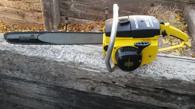 New Mac 10-10a in Chainsaws