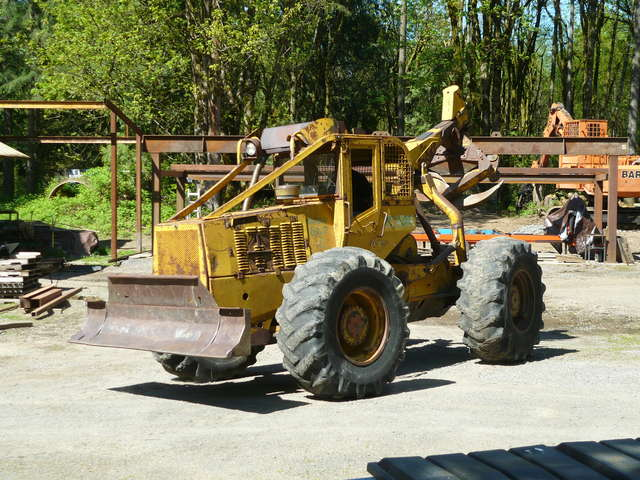 My Clark 667 Grapple Skidder has arrived in Forestry and Logging