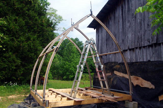 cheap gothic arch solar kiln in Drying and Processing