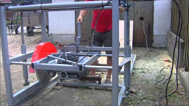 Swing blade mill build in Sawmills