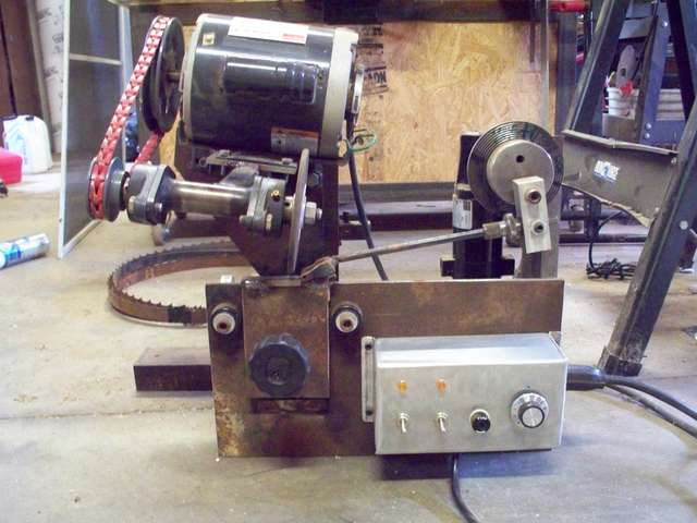 DIY Bandsaw Blade Sharpener in Sawmills and Milling