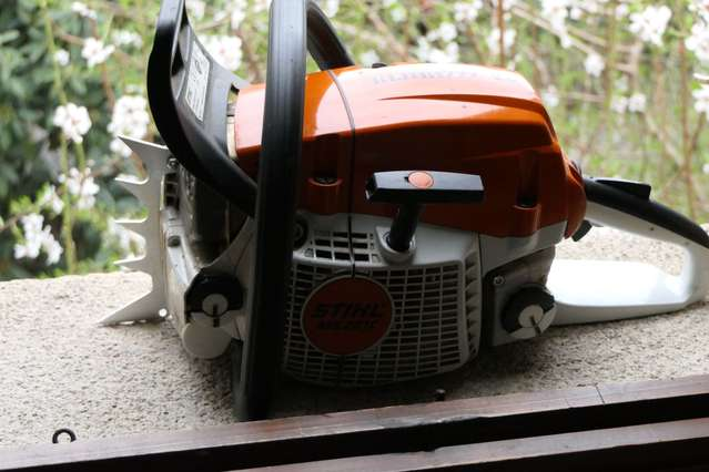 Need bigger bumper spikes for my MS 261 in Chainsaws