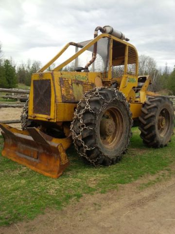My new Skidder - new to me  Clark 664C in Forestry and Logging