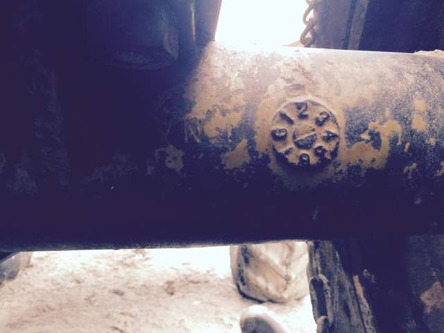 identify this axle and housing in Forestry and Logging