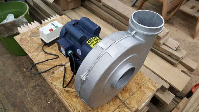 Whole Shop Stationary Dust Collector in General Woodworking