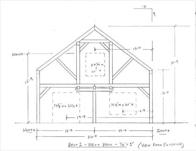 Our timber frame house. in Timber Framing/Log construction