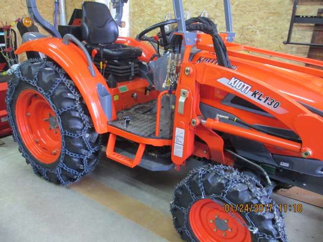 Kioti tractors in Forestry and Logging