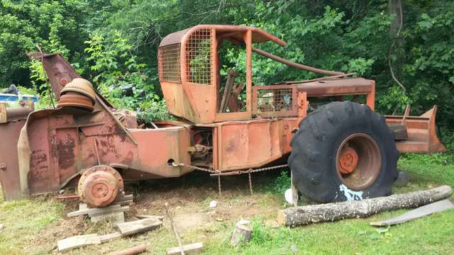 year of my 240 timberjack cable skidder in Forestry and Logging